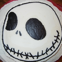 Jack Skellington #2   Two different parties call for two different Jack cakes using FBCT.