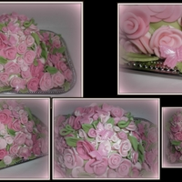 Pretty In Pink 175 fondant roses