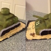 Army Tank Cake When I got this request,I have to say,I was a bit nervous,because I wasn't sure I can pull it off. After putting it together,I went to...