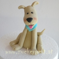 My Dog ... named Benny!Made out of Sugarpaste :-)