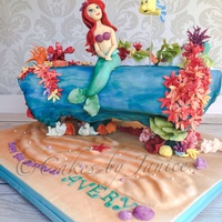 A Cake For Icing Smiles The Child Wanted A Dream Cake With Little Mermaid Theme Modeling Chocolate And Fondant Figures Modeling Chocolate A cake for Icing Smiles. The child wanted a dream cake with little mermaid theme. Modeling chocolate and fondant figures. Modeling...