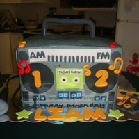 Boombox Cake This was for a 12 year old boy who loves the 80's and Michael Jackson! It was a huge hit. I was very proud of this one!