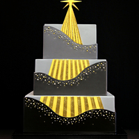 Star Of Christmas Cake I made this cake for Half Baked - The Cake Blog's 12 Cakes of Christmas. My inspiration was the Star of Christmas - Jesus Christ. The...