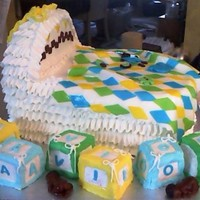Baby Shower Baby Shower Cake, cubes are cake too