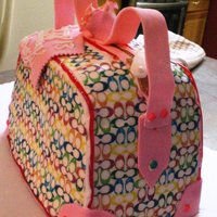 Purse Cake- Coach   Coach Purse for 13 year old girls birthday