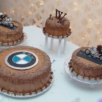 Grooms Cake Hes Really Into Bmw Motorcycles And Penguins Devils Food And Peanut Butter Cream Cake Italian Meringue Butter Cream Grooms Cake- He's really into BMW motorcycles... and penguins. Devil's food and peanut butter cream cake - italian meringue...