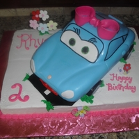 Sally From Cars For my granddaughters 2nd birthday