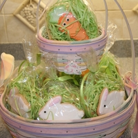 Easter Basket Goodies NFSC.....Royal Icing.
