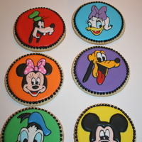 Mickey Mouse Clubhouse sugar cookies with royal icing