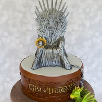 Game Of Thrones Game of Thrones cake for my husband Gim. (Hence the 'Gim of Thrones'.)