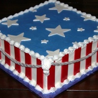 Fourth Of July Cake Fourth Of July Cake