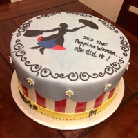 Misc Mary Poppins Cake