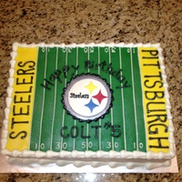 Pittsburgh Steelers Cake Pittsburgh Steelers Cake
