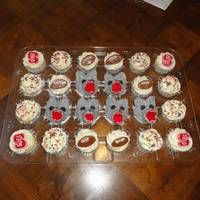 Nc State Cupcakes NC State cupcakes for my son's friends birthday. Go Wolfpack!