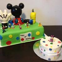 Mickey Mouse Club House First Birthday Mickey Mouse Club House First Birthday!