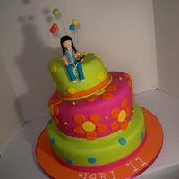 Tupsy Turvy Cake All Sugar