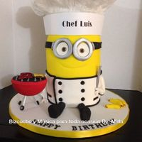 Chef Happy Birthday Cake Chef happy birthday cake