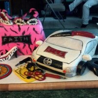 Odd Request For A Sibling Birthday Party 10 Year Old Girl Who Wanted A Girly Purse Cake And A 19 Year Old Boy Who Wanted A Cake Of His Scio... Odd request for a sibling birthday party, 10 year old girl who wanted a girly purse cake and a 19 year old boy who wanted a cake of his...