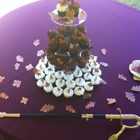 Fall Cupcake Wedding
