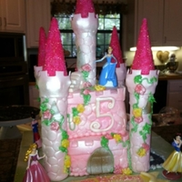 Princess Another Castle cake for our little princess