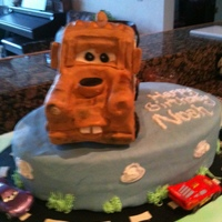 Tow Mater 3rd birthday party....