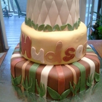 Baby Shower Cake This cake was inspired by a toy box that is the theme of the entire nursery!