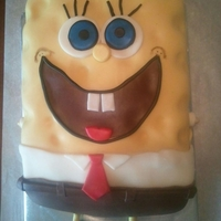Sponge Bob Square Pants Sponge Bob Square Pantscovered in fondant