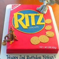 Ritz Cracker Cake   Ritz cracker cake