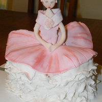 Ballerina Cake Made for my daughters 4th B.day