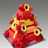 Passion Wedding Cake
