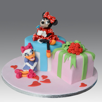Minnie Daisy Cake Minnie Daisy Cake