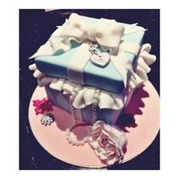Tiffany Box Cake Tiffany box Cake