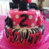 Minnie Mouse Birthday Cake Minnie Mouse Birthday Cake
