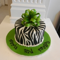 Green And Zebra Stripes