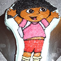 Dora The Explorer   Cake I made for my nieces 2nd birthday