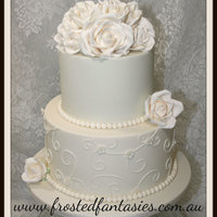 Love This Simple Design All Hand Crafted Roses Love this simple design.. All hand crafted roses