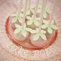 Cakepops These cake pops as well as mini cakes cookies and a wedding cake made it to the front cover of Modern Brride DIY :-)