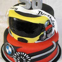 Bmw Cycle Cake