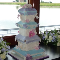 7 Tier Pillow Cake