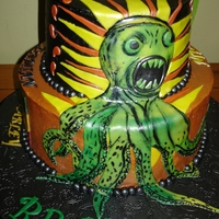 Music Cake The Dirty Heads, Nirvana, Beastie Boys, Bob Marley, Damian Marley, Clutch logo's or related images