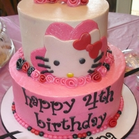 Hello Kitty Two tier Hello Kitty