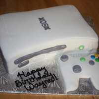 Xbox Cake With Controller