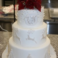 "Wedding Cake- School Final Project I recently graduated from pastry school, where our final project had to be a ""winter-themed"" wedding cake. I took my inspiration..."