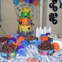 Cake And Dessert Bar For A 60Th Birthday