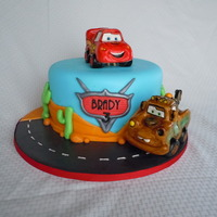 Disney Pixar's Car's There are a lot of cake out there with this theme. I looked through them all and took inspiration from them for this cake. Thanks to all...