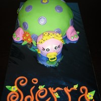 Baby Turtle Cake all MMF