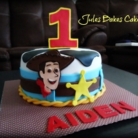Toy Story Cowboy Woody Cake