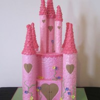 Castle Cake. My first Castle Cake.