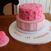 1St Birthday Cake & Smash Cake