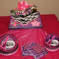 Rock Star Diva Birthday Cake